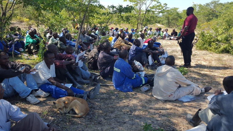 Community Manage Conflict through use of Traditional practice