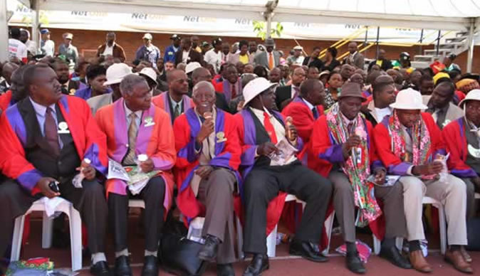 We are not aware of the Constitutional Provisions of our Mandate: Traditional leaders