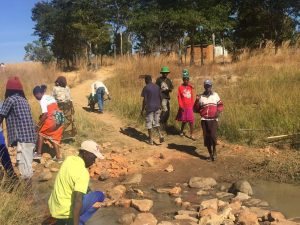 """""""Never again shall we allow such Violence"""" :Mazowe Ward 9 Community Pledges."""