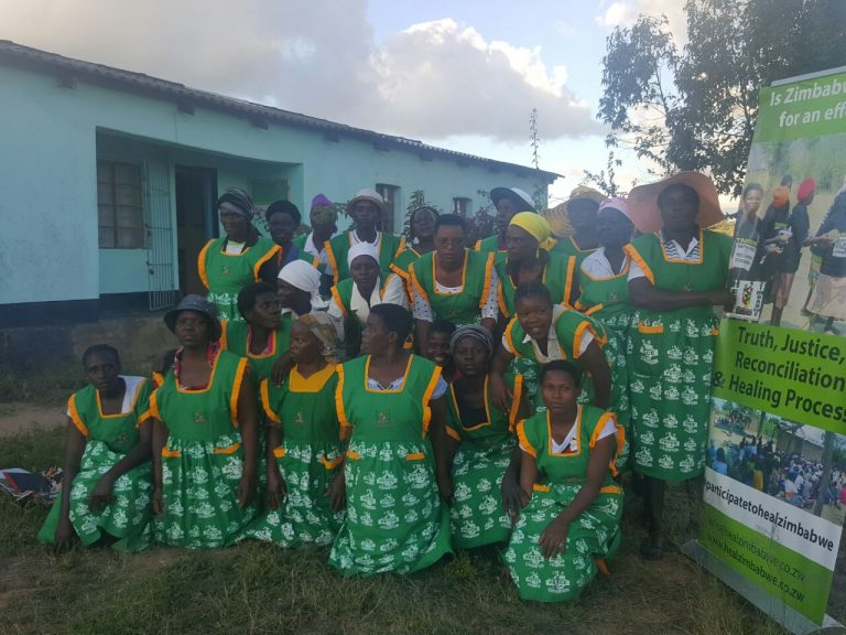 Women spearhead door to door peace and social accountability awareness campaigns in Masvingo