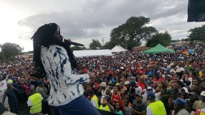 Hundreds register to vote at a National Peace Concert in Bulawayo ….and thousands pledge to uphold peace ahead of the election.