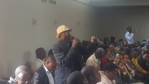 HZT Peace Structures engage the NPRC during the Provincial consultative meetings.