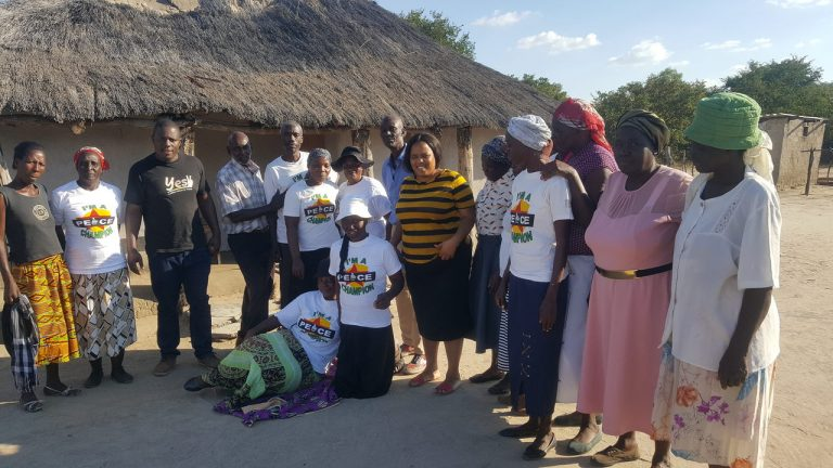 Community members in Tsholotsho intensify peace campaigns…. challenge President Mnangagwa to walk the talk on peace.