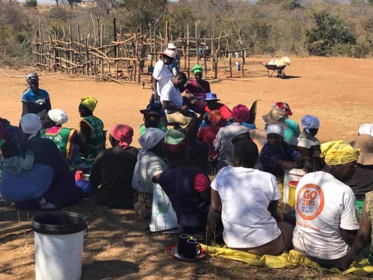 Women in Zaka Ward 19 make strides towards realization of SDG 6…..demand access to clean water