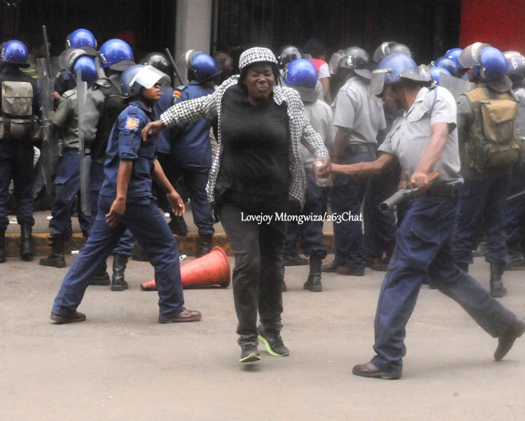 Police use of violence to disperse civilians,   barbaric and unconstitutional