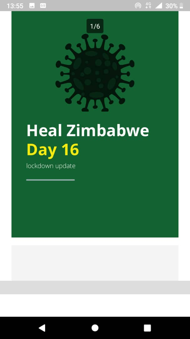Read more about the article Heal Zimbabwe Day 16 lockdown update