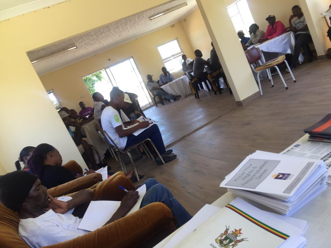You are currently viewing Heal Zimbabwe partner, WERDIT fights illegal evictions in Wedza…..rallies Communities to challenge evictions in Court.