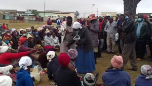 Zaka CAAT intensifies fight against COVID 19…distributes washable masks at Jerera Growth Point