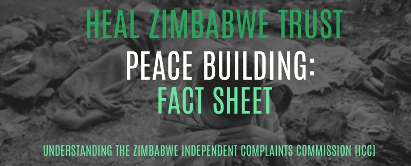 You are currently viewing Heal Zimbabwe: Peace-building Factsheet